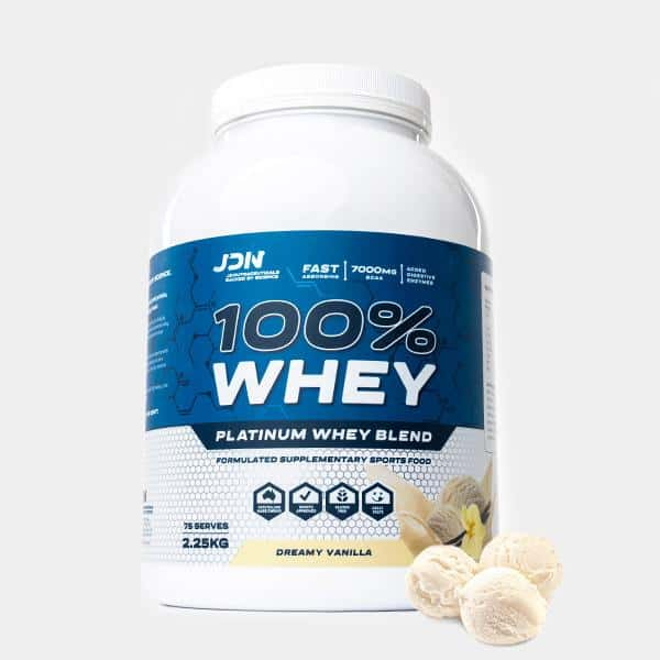 100% Whey by JDN Product Dreamy Vanilla