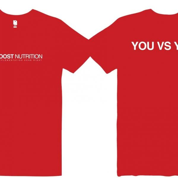 Red Shirt by Boost Nutrition