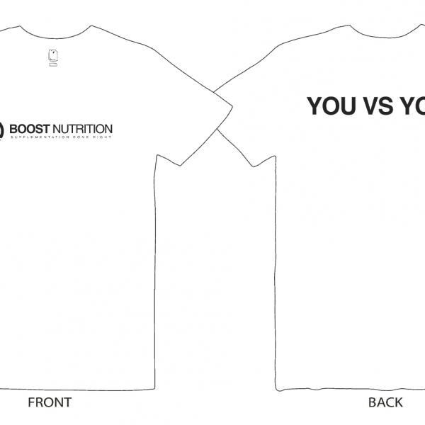 White Shirt by Boost Nutrition