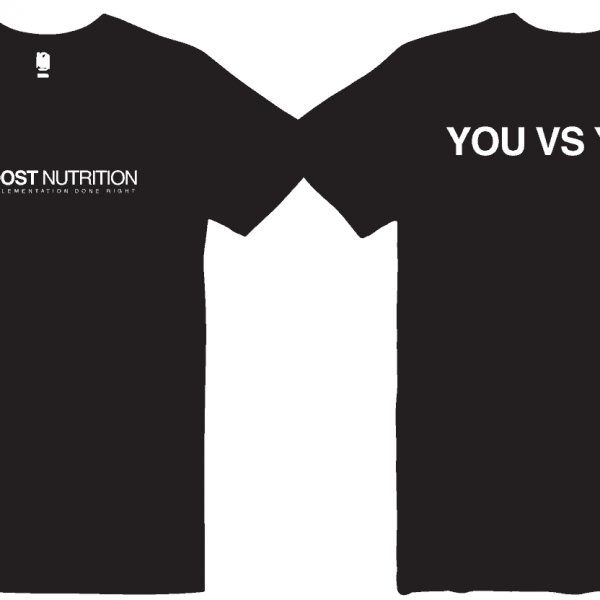 Black Shirt by Boost Nutrition