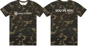 Camo Shirt by Boost Nutrition