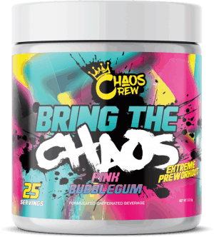 Bring The Chaos By Chaos Crew Pink Bubblegum