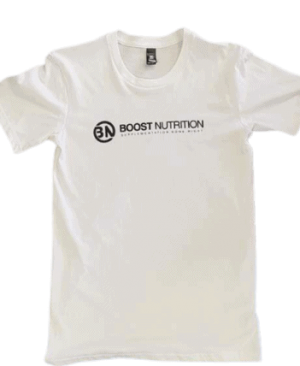 White shirt You Vs You By Boost Nutrition