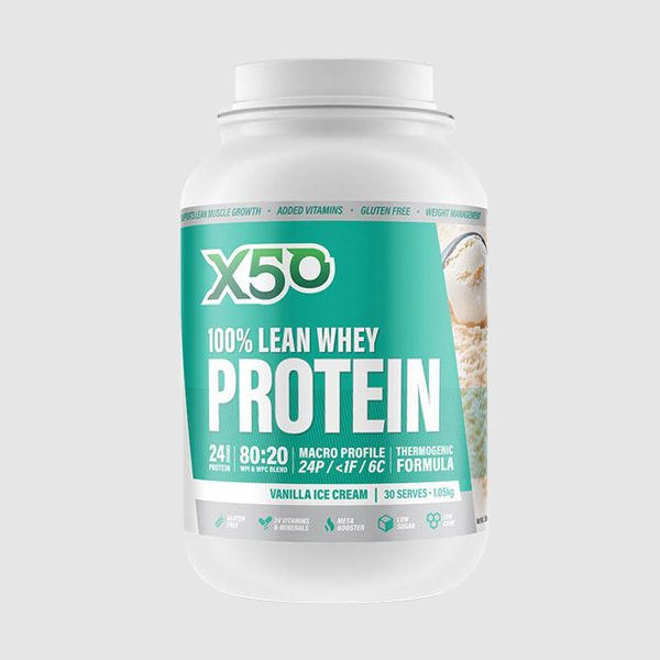 X50 100% Lean Whey Protein By X50
