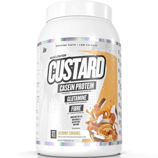 Custard Casein Protein By Muscle Nation