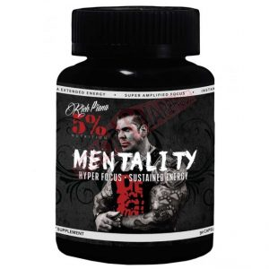 Mentality By Rich Piana 5% Nutrition